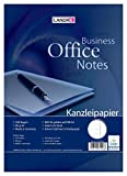 Landre 100050618 Foolscap Paper, DIN A3 Folded to A4, Lined, 80 g/m² Fine, 250 Sheets per Pack Official Paper'Office', DIN A3 Folded to A4, Lined with Margin