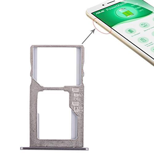 Dmtrab para Reparar la Bandeja de Tarjeta SIM Bandeja de Piezas Tarjeta + Micro SD for ASUS Zenfone 3 MAX ZC553KL (Negro) Partes de telefonía móvil (Color : Pink)