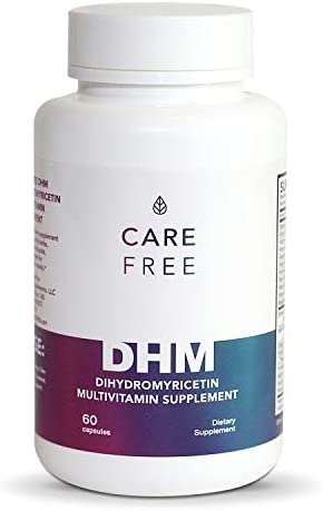 Carefree DHM Recovery Pills Dihydromyricetin 600mg Multivitamin 60 Pills Celebration Recovery product image