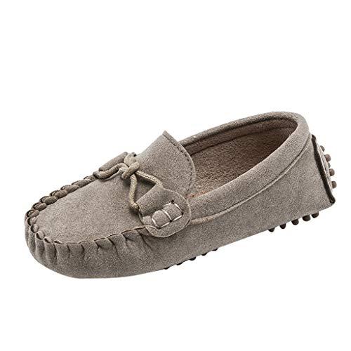 LILIHOT Kinder Freizeitschuhe Jungen Mädchen Müßiggänger Einfarbig Weiche Unterseite Atmungsaktive Schuhe Flache Boden Baby Sommer Strand Schuhe Wander Hausschuhe