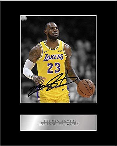 Lebron James Autogramm mit Autogramm von Los Angeles Lakers #05