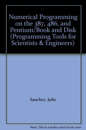 Numerical Programming on the 486 and Pentium Processor