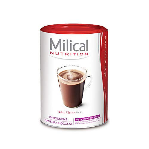 Milical Boisson Hyperprotéinée 540 g - Matin Plaisir Cacao