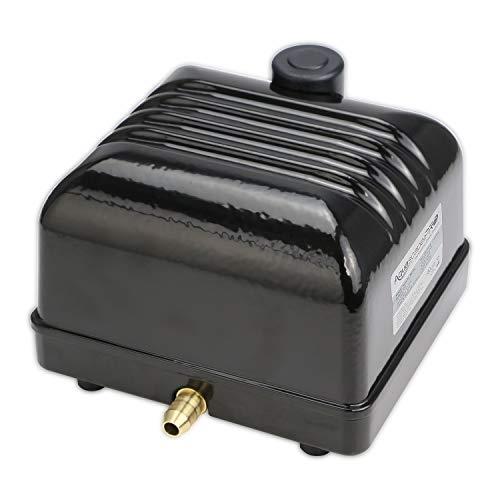 Aquascape Pro Air 20 Pond Aerator, Energy Efficient Aeration Compressor, Out-door Rated | 61017,Black