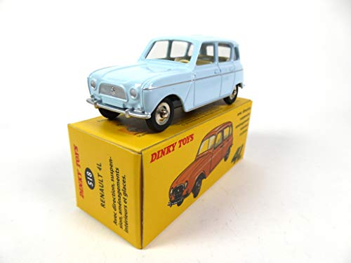 OPO 10 - Atlas Dinky Toys - Renault 4 Light Blue 518 1:43 (MB328)