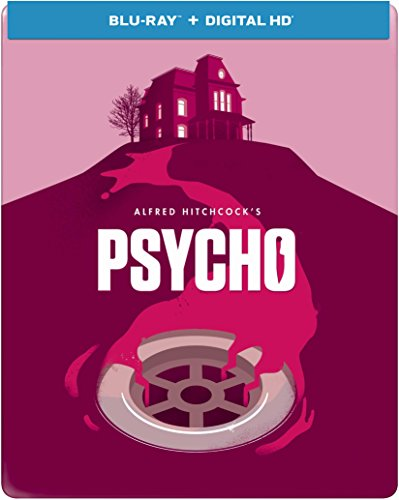 Psycho (1960) - Limited Edition Steelbook (Blu-ray + DIGITAL HD with UltraViolet)
