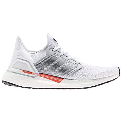 adidas Ultraboost 20 W, Zapatillas de Running Mujer, FTWBLA/Plamet/CARFRE, 39 1/3 EU
