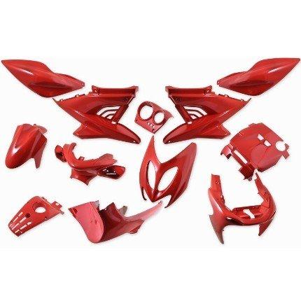 Verkleidung 12 TLG, StylePro, Nitro,Aerox, rot
