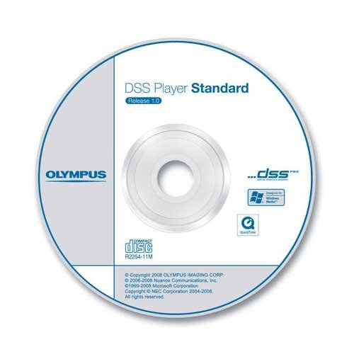 Olympus DSS Player Software Diktiermodul CD-ROM inkl. Seriennummer (Transkription)