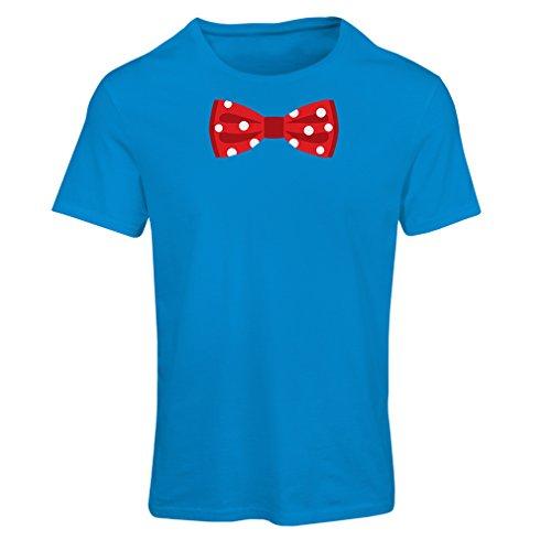 lepni.me N4551F Camiseta Mujer Look Like a Boss (Small Azul Multicolor)