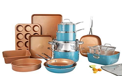 Gotham Steel Ceramic Copper Cookware