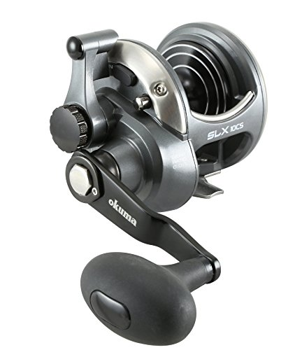 Okuma Fishing Tackle Solterra SLX-15CS High Speed Open Top Frame Lever Drag Reel