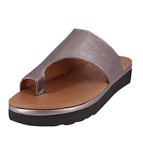 WSXZ 2019 Nuevas Mujeres C/ómodas Sandalias Corrector De Juanetes Ortop/édico para Mujeres Zapatos Ortop/édicos de Correcci/ón de pie de Dedo Gordo Corrector de Juanetes Ortop/édico