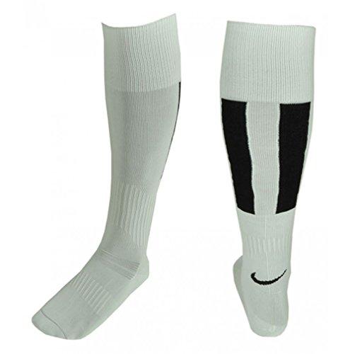 Nike Calze Calzettoni Calcio Football Socks Bianco Neri Tipo Juve Tg. L (42/47)