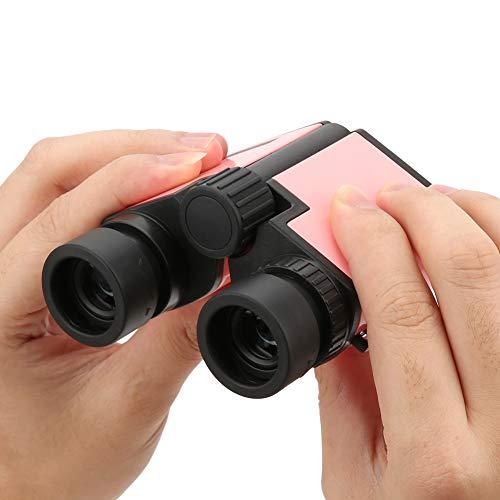 Changor Exterior Niños Prismáticos, Ocular Tamaño El plastico Servicio La Vida (Rosa)
