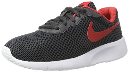 Nike Nike Jungen Tanjun (GS) Zehenkappen, Mehrfarbig (Anthracite/University Red-White), 40 EU