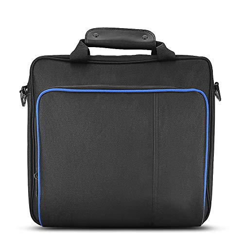 Vbestlife Travel Storage Bolso Portátil,Bolso de Hombro Impermeable Totalmente Protector para PlayStatio n 4 PS4