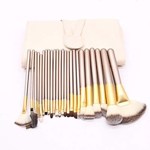 MPKHNM 12/18/24 pinceau de maquillage beige set brosse outils de maquillage beauté pinceau set