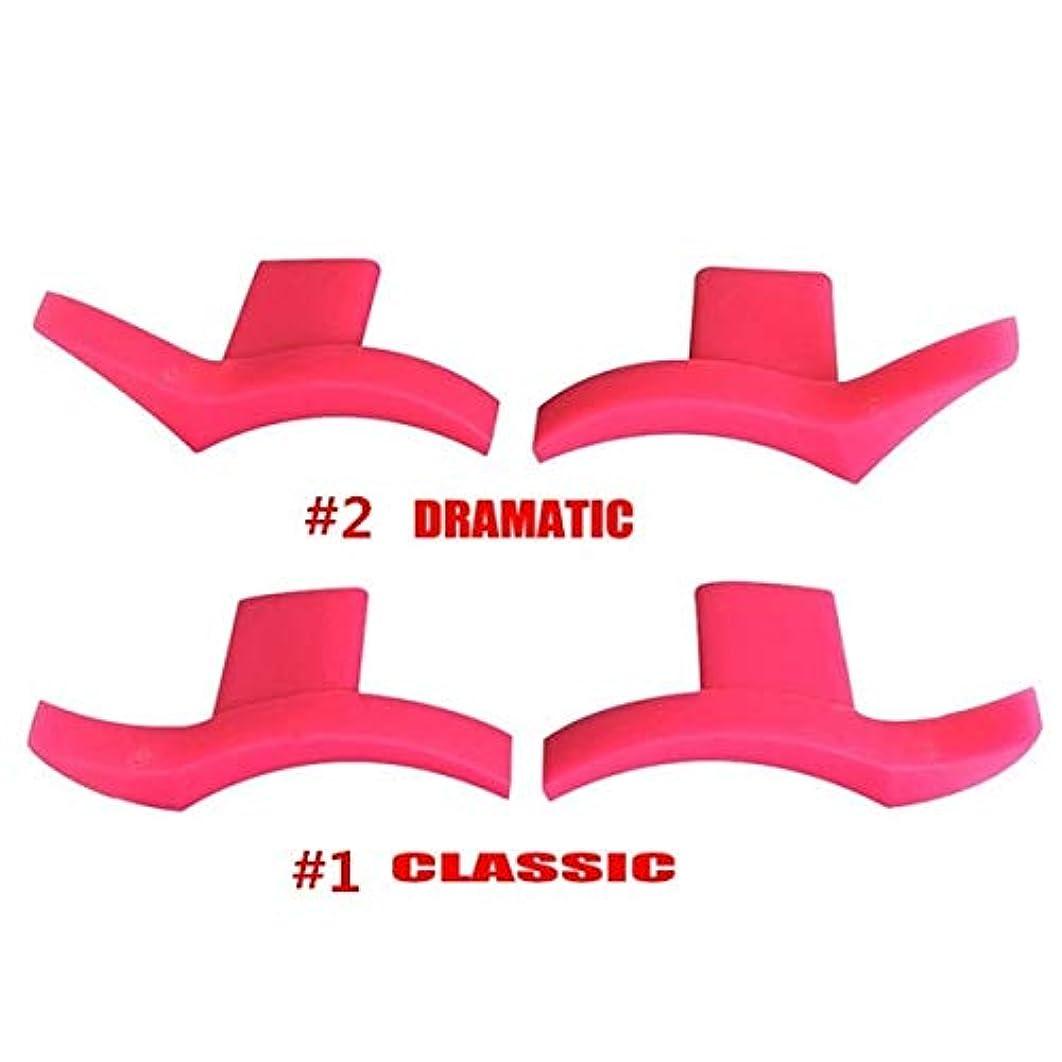 口径クルーズショットSemperole - 4本アイライナー金型翼は目ウィングリキッドアイライナーツール美容ポータブル化粧品[劇的+クラシック]を着やすいスタンプシール