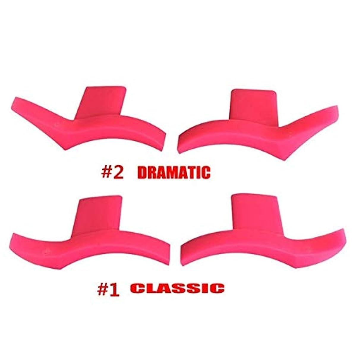 品カプラーダウンSemperole - 4本アイライナー金型翼は目ウィングリキッドアイライナーツール美容ポータブル化粧品[劇的+クラシック]を着やすいスタンプシール