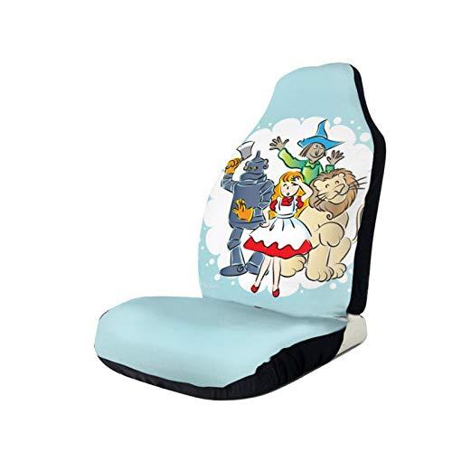 Wizard of OZCar Sitzbezug, rutschfest, schmutzabweisend, staubdicht, atmungsaktiv, universelle Passform für Auto, LKW, SUV, Teenager, zur Linderung von Rückenschmerzen, 1 Stück