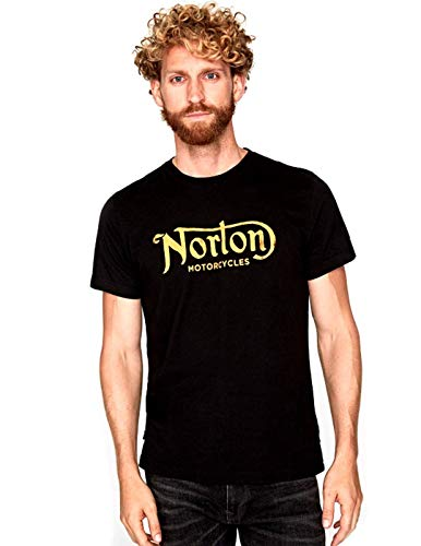 Norton Herren T-Shirt, Schwarz XL