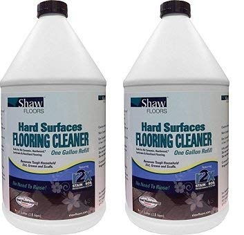 Shaw Floors R2X Hard Surfaces Flooring Cleaner Ready to Use No Need to Rinse Refill 1 Gallon (2-(Pack))