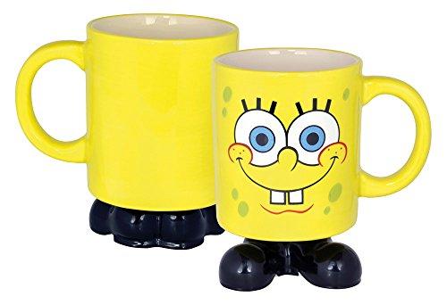 SpongeBob Tasse, 3D-250ml-0119587 Kaffeetasse, Dolomite, weiß, 12 x 8.5 x 9.5 cm