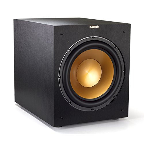 Klipsch 12' 400 Watts Wireless Subwoofer Brushed Black Vinyl (R-12SWi)