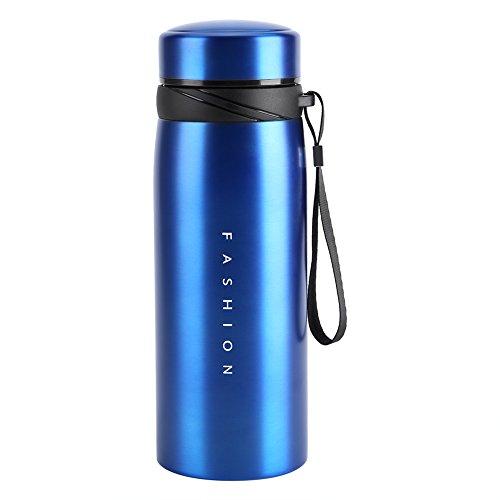Water Fles, 1 Pc 900ml Draagbare Roestvrij Staal Water Thermische Beker Thee Koffie Reizen Drank Fles voor Kinderen Volwassen Gebruik
