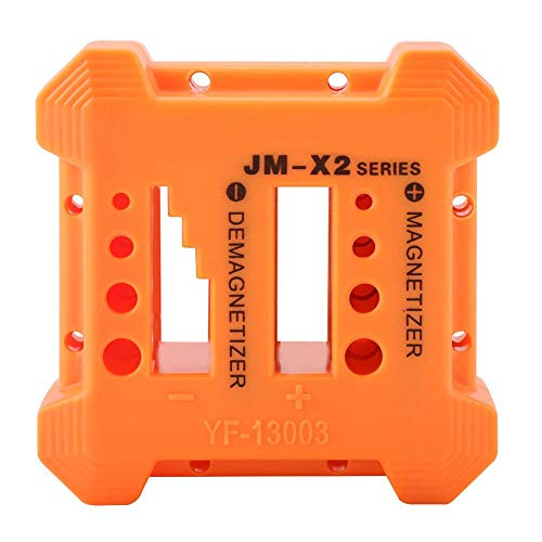 FTVOGUE Magnetizador de precisión para desmagnetizador, herramienta magnética práctica y portátil para puntas de destornillador de tornillos