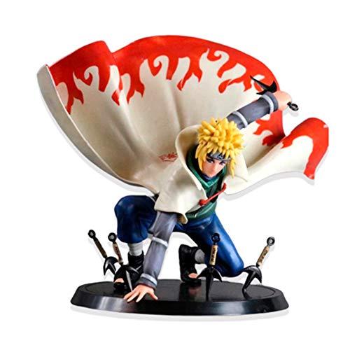 ALTcompluser Anime Naruto Yondaime Minato Namikaze PVC Figur Statue Actionfigur Sammelfigur, Geschenk für Anime Fans