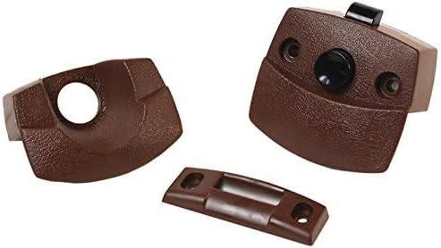RV Designer H531 Indefinitely Privacy Latch Interior 1 year warranty Hardware 6 Brown