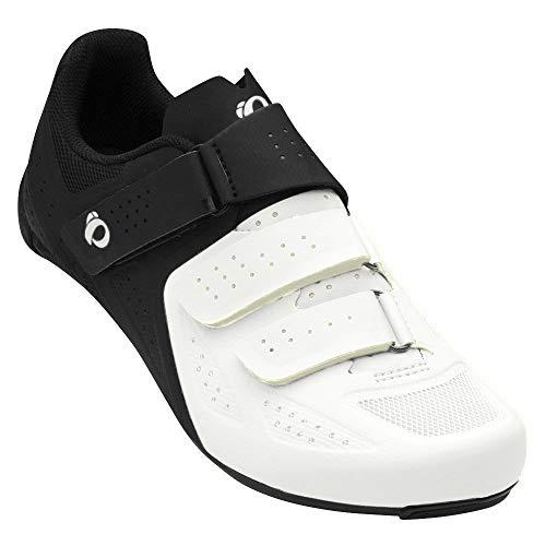 PEARL IZUMI Select Road V5 - Zapatillas de Ciclismo para Hombre, Color Blanco, Talla 41 EU