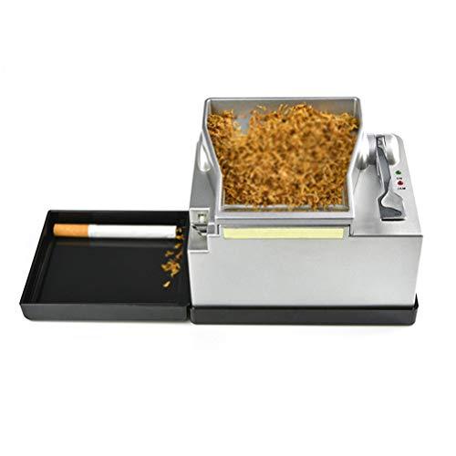 Zigarettenmaschine Elektrisch Automatisch, Elektrische Tabakstopfmaschine Automatische Zigarettenmaschine Tube 8MM Rauchzubehör für das beste Geschenk des Vaters des Mannes