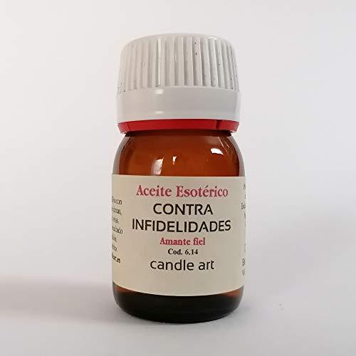 Candle Art Aceite con extracto de Plantas contra INFIDELIDADES - UNGIR Velas
