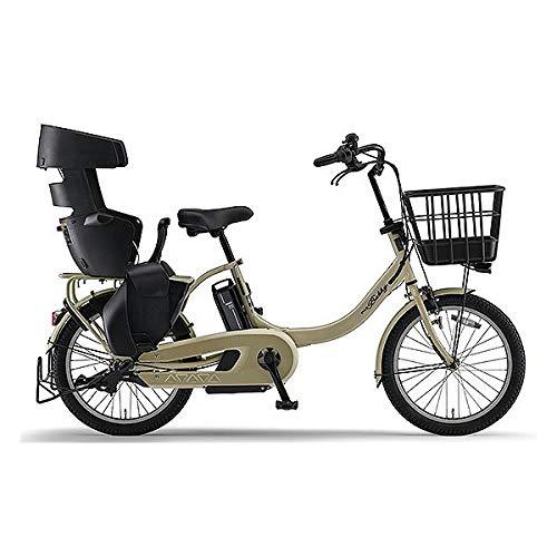 ヤマハ(YAMAHA) 電動アシスト自転車 PAS Babby un (RCS付き)12.3Ah PA20BXLR マットカフェベージュ