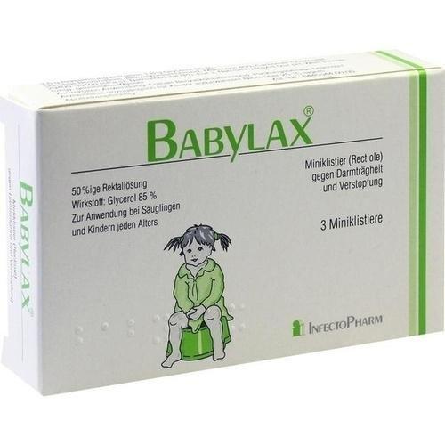 Babylax Klistire, 3 St.