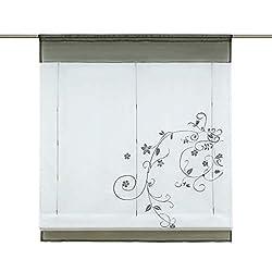 landhausstil k chengardinen landhausstil ideen. Black Bedroom Furniture Sets. Home Design Ideas