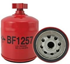 Filter - Fuel / Water Separator Spin On with Drain BF1257 Cummins Gehl Bobcat S250 773 773 S150 763 763 S185 T190 S175 863 863 873 S160 753 753 New Holland LS160 LS170 L170 Case 420 Case IH Cummins