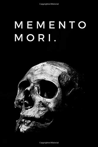 Memento Mori Remember That You Will Die Small Hexagon Notebook For Chemist Chemistry Teacher Stoics And Philosophy Students Journal Diary