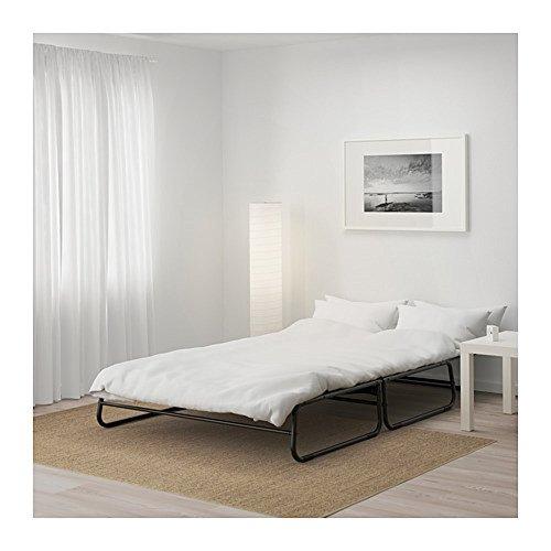 IKEA/イケアHAMMARN:ソファベッドブラック/クニーサダークグレー(803.614.94)