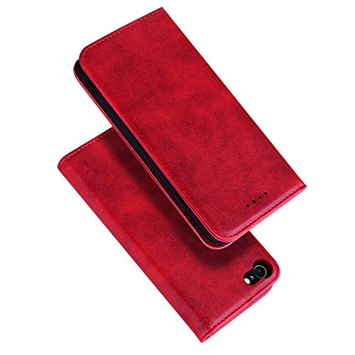 Radoo iPhone 8 / iPhone 7 Hülle, Premium PU Leder Handyhülle Klappetui Flip Cover Tasche Etui Brieftasche Lederbrieftasche Schutzhülle für Apple iPhone 8 / iPhone 7 4,7