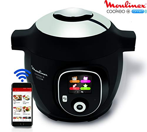 Moulinex Multicuiseur Intelligent Cookeo+ Connect via Application Bluetooth 6L 6 Modes de Cuisson...