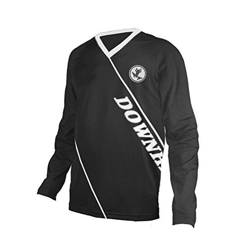 UGLY FROG Bike Wear Atmungsaktiv Trendy Herren Downhill/MTB Jersey Mountain Bike Shirt Fahrradtrikot Langarm Freeride BMX Frühling Top HDX07