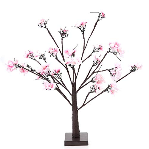 LED Light, Beautiful Decoration Sweet and Charming Non-waterproof LED Decor Tree Light with Pvc+Copper Wire(Warm White)