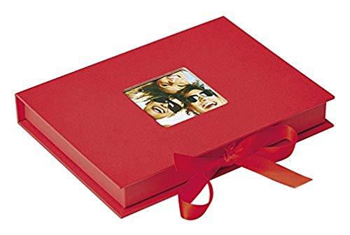 Walther Design FB-112-R Scatola di Immagazzinaggio Fun per Foto nel Formato, Altro, Rosso, 70 13 x 18 cm