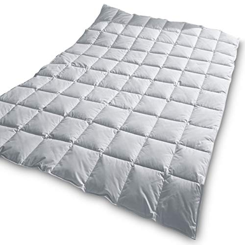 TraumDaune Premium Gänsedaunen Bettdecke »Träumchen« 135x200 cm, leicht/Sommer (Wärmegrad 2), Füllgewicht: 264 g