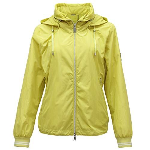 BARBARA LEBEK Damen Jacke mit Kapuze Melba gelb - 42