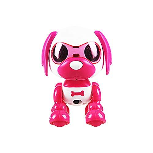 Sulifor Gehender Solider Elektromotorhund, elektronischer intelligenter Roboterhundemusiktanz gehendes wechselwirkendes Kinderwelpen-Haustierspielzeug
